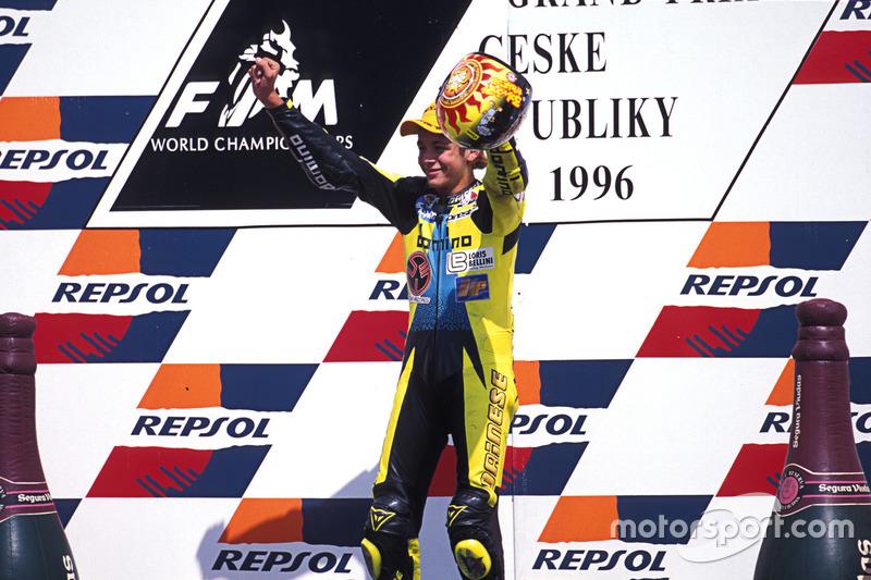 Brno 1996 - Premier succès en Grand Prix