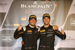Polesitter #58 Garage 59 McLaren 650S GT3: Alvaro Parente and second place #59 Garage 59 McLaren 650S GT3: Côme Ledogar