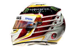 Il casco di Lewis Hamilton, Mercedes AMG F1