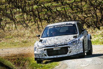 Shakedown de la Hyundai i20 R5