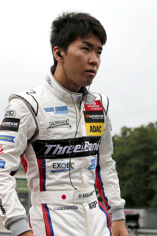 Ukyo Sasahara, ThreeBond with T-Sport, Dallara F312 – ThreeBond