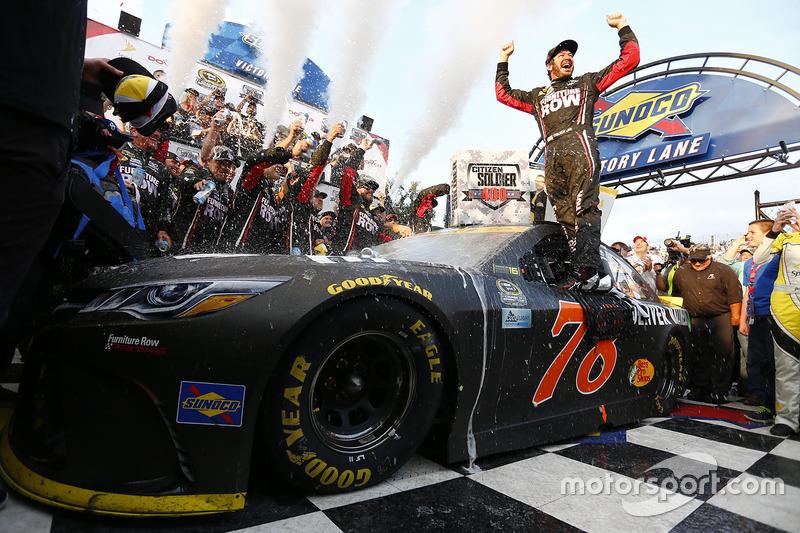 #3: NASCAR-Sieger Martin Truex Jr., Furniture Row Racing, Toyota