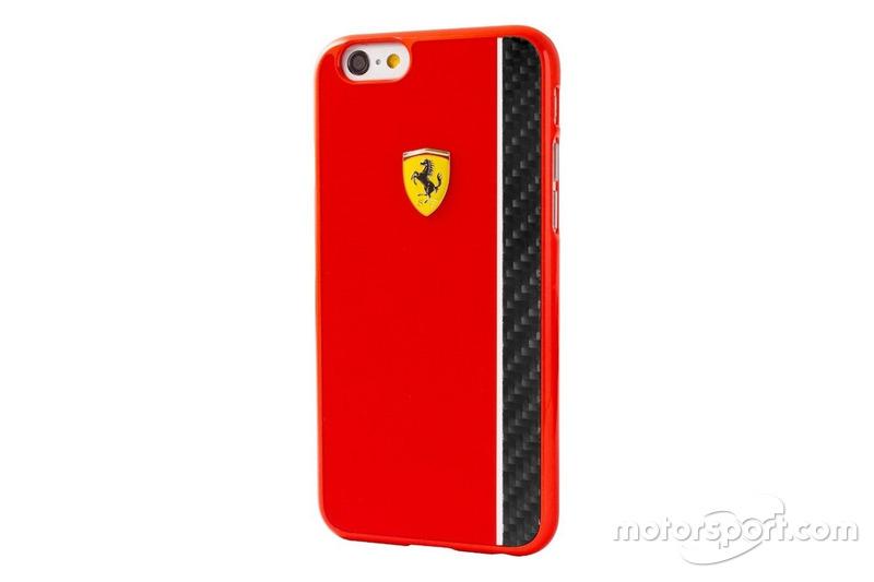 Coque Iphone 6/6S rouge brillant Scuderia Ferrari