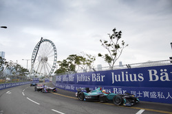 Nelson Piquet Jr., NEXTEV TCR Formula E Team; Sam Bird, DS Virgin Racing