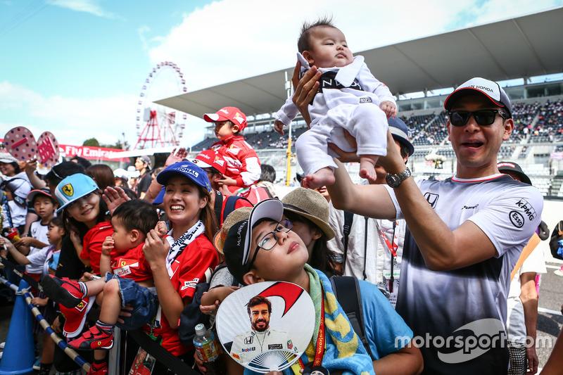 Fans von Fernando Alonso, McLaren
