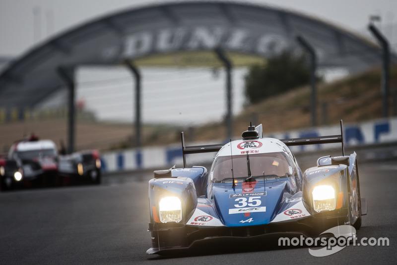 11: #35 Baxi DC Racing Alpine A460 Nissan: David Cheng, Ho-Pin Tung, Nelson Panciatici