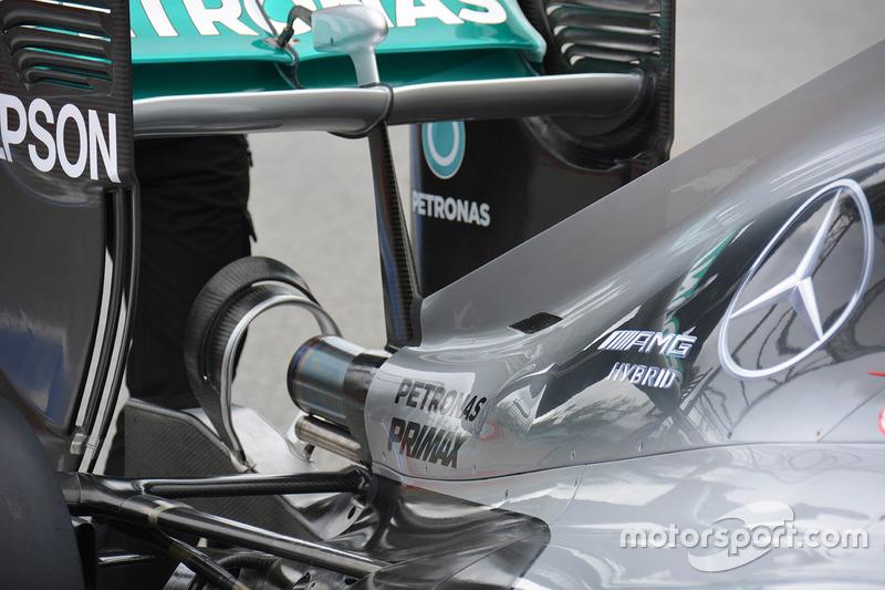 Mercedes AMG F1 W07, Monkey-Seat