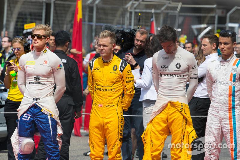 Marcus Ericsson,Kevin Magnussen,Jolyon Palmer,Pascal Wehrlein