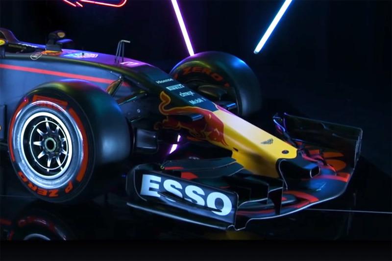 Red Bull Racing RB13 detail voorkant