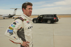 Carl Edwards and the Toyota Land Speed Cruiser