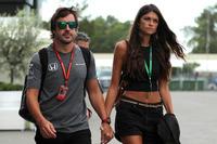Fernando Alonso és barátnője, Linda Morselli