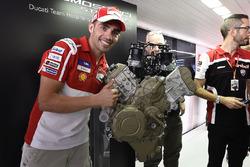 Michele Pirro, Ducati Team, Ducati V4 road engine launch