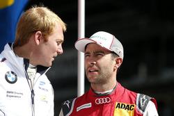 Maxime Martin, BMW Team RBM, BMW M4 DTM und Mike Rockenfeller, Audi Sport Team Phoenix, Audi RS 5 DTM