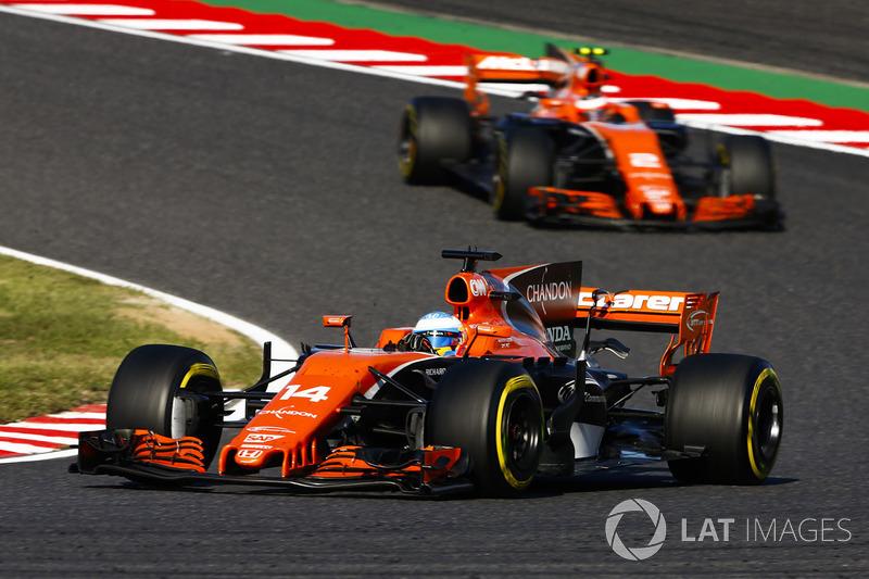 Fernando Alonso, Stoffel Vandoorne, McLaren MCL32