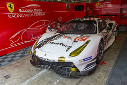 #62 Scuderia Corsa, Ferrari 488 GTE: Cooper MacNeil, Bill Sweedler, Townsend Bell