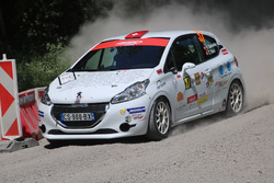 Victor Darbelay, Charlène Bori, Peugeot 208 R2, Atelier de la Tzoumaz