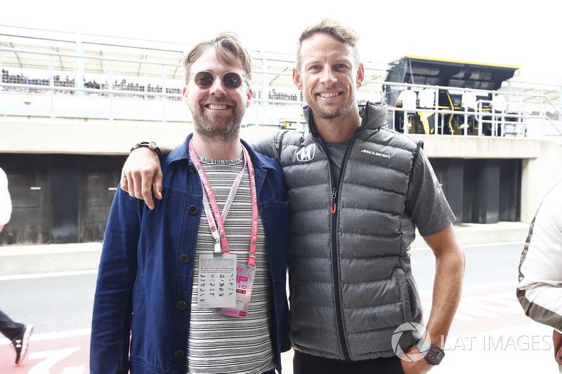 Ricky Wilson de los Kaiser Chiefs, Jenson Button, McLaren