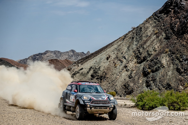 #101 X-Raid Team Mini: Yazeed Al-Rajhi, Tom Colsoul