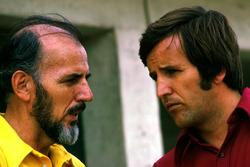 Don Nichols, dueño de Shadow Team con Heinz Hofer Team manager de Team Penske
