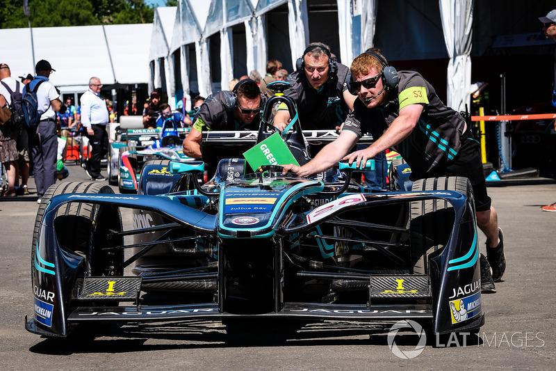Coche de Mitch Evans, Jaguar Racing