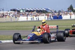 Nigel Mansell, Williams FW14, Ayrton Senna, McLaren MP4/6