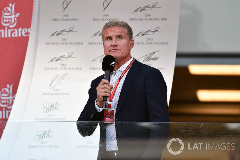 David Coulthard, Channel 4