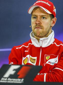 Post-race press conference: race winner Sebastian Vettel, Ferrari