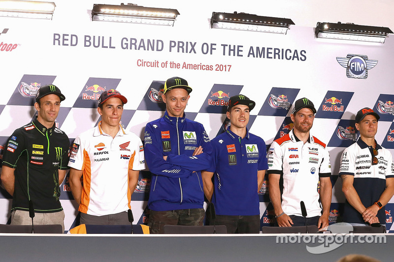 Johann Zarco, Monster Yamaha Tech 3, Marc Marquez, Repsol Honda Team, Valentino Rossi, Yamaha Factor