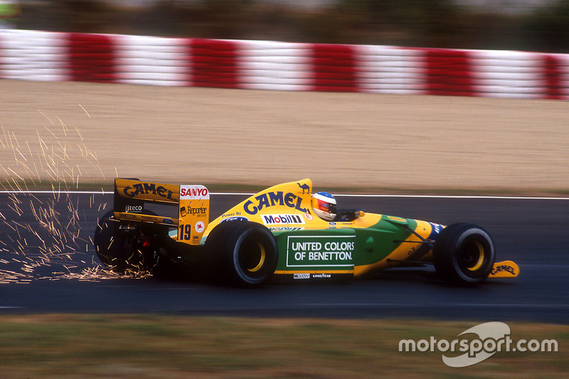 Michael Schumacher, Benetton B192 Ford