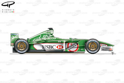 Jaguar R2 side view