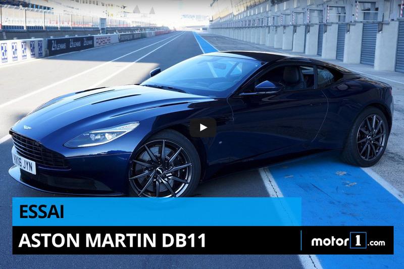 Prueba Aston Martin DB11