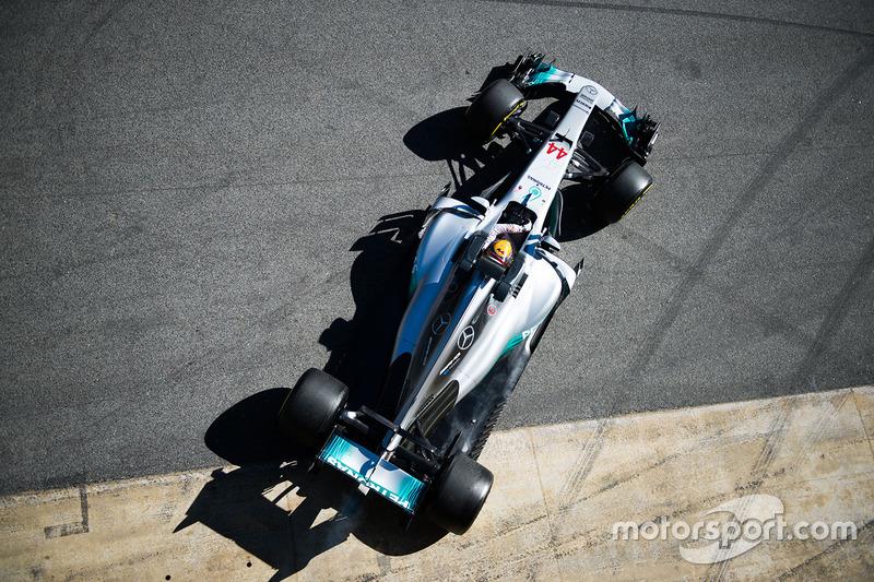 #2: Mercedes AMG F1 W08