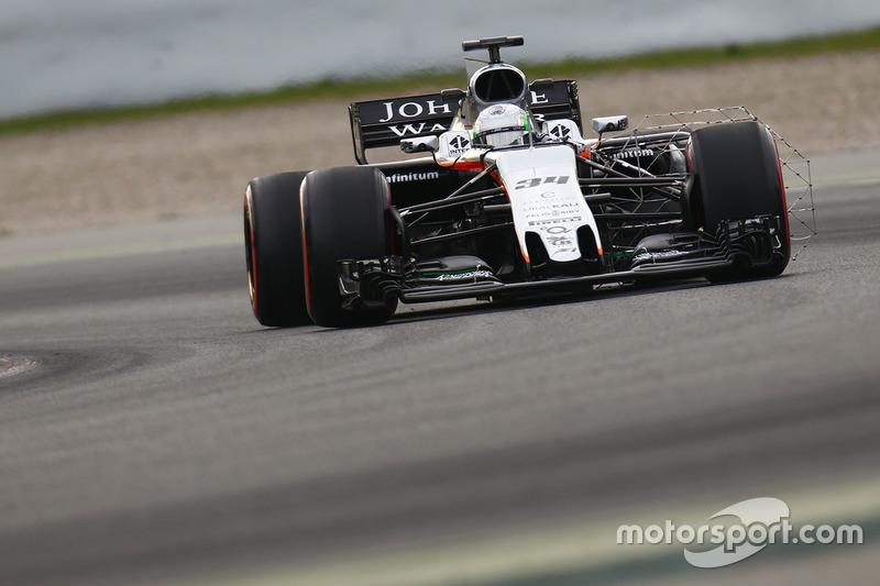 Alfonso Celis, Force India VJM10, development driver