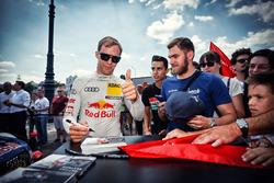 Mattias Ekström, Audi Sport Team Abt Sportsline, Audi A5 DTM, mit Fans
