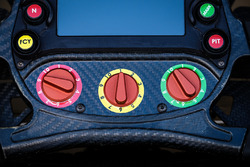 Steering wheel of Jérôme d'Ambrosio, Dragon Racing