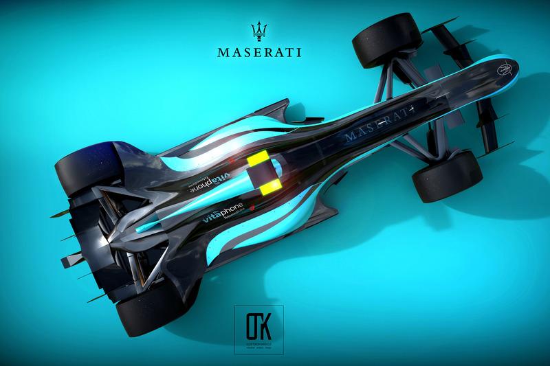 Концепція дизайну Maserati 2020