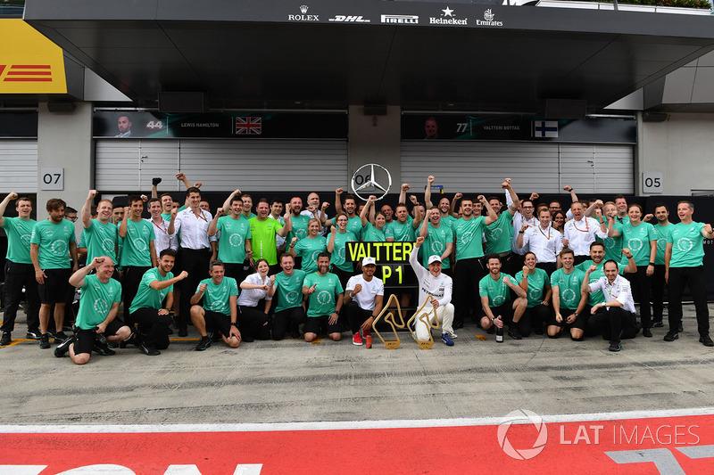 Mercedes, imparable en el Red Bull Ring desde 2014