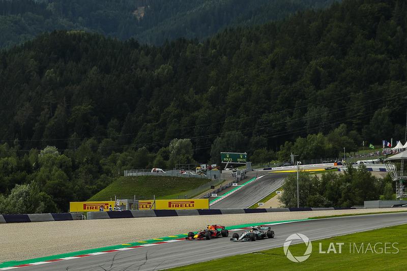 Льюіс Хемілтон, Mercedes-Benz F1 W08, Даніель РІккардо, Red Bull Racing RB13