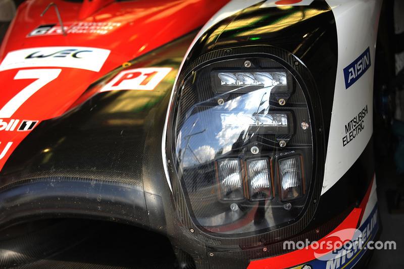 #7 Toyota Gazoo Racing Toyota TS050 Hybrid: Mike Conway, Kamui Kobayashi, Yuji Kunimoto