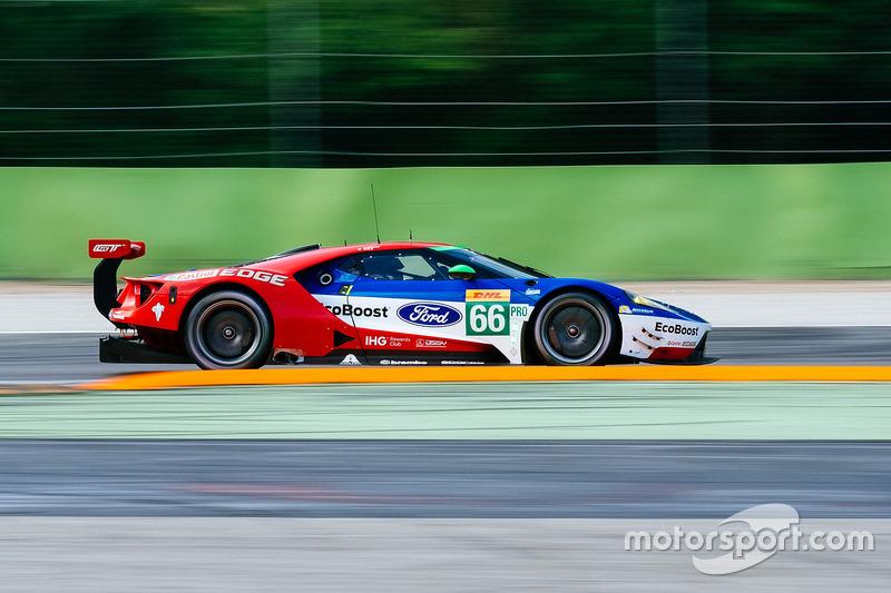 #66 Ford Chip Ganassi Racing, Ford GT: Olivier Pla, Stefan Mücke