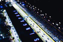 La salida del GP de Singapur