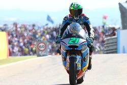 Le vainqueur de la course, Franco Morbidelli, Marc VDS