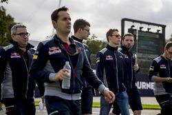 Даниил Квят, Scuderia Toro Rosso: ознакомление с трассой