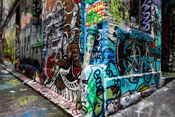 Стрит-арт в Мельбурне