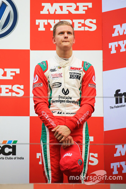 Podium: 3. Mick Schumacher