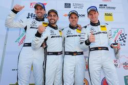 Podium: #14 AMG Team Black Falcon Mercdes-AMG GT3: Maro Engel, Adam Christodoulou, Manuel Metzger, D