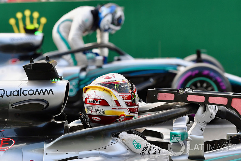 Lewis Hamilton, Mercedes-AMG F1 W09 EQ Power+ ve Valtteri Bottas, Mercedes-AMG F1 W09 EQ Power+