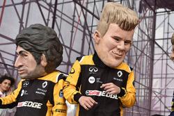 Karikatür, Carlos Sainz Jr., Renault Sport F1 Team, Nico Hulkenberg, Renault Sport F1 Team
