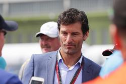 Mark Webber, pilota australiano