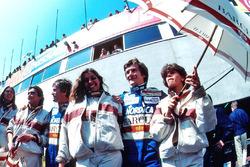 Marc Surer, Arrows, con il compagno di squadra Thierry Boutsen